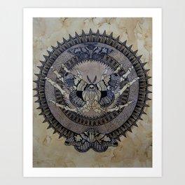Moth Of Death Art Print