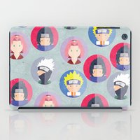 naruto iPad Cases featuring Naruto icons by Maha Akl