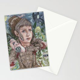 Dragon Warrior Stationery Cards