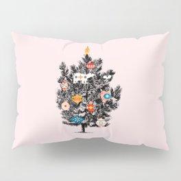 Retro Christmas tree no3 Pillow Sham