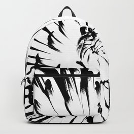 Large Chrysanthemum - BWScale Backpack