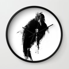 Quoth the Raven Wall Clock