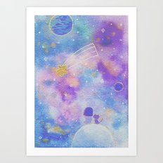 you are my lucky star Art Print