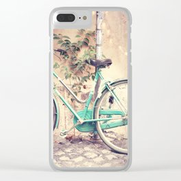Bicycle Lights Clear iPhone Case