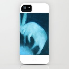 Ghost Bunny adrift iPhone Case