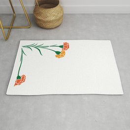 Carnations Rug