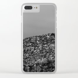 Precipice Edge Clear iPhone Case