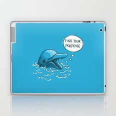Find Your Porpoise Laptop & iPad Skin