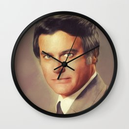Larry Hagman, Actor Wall Clock