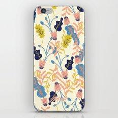 Pastel Floral Pattern iPhone & iPod Skin