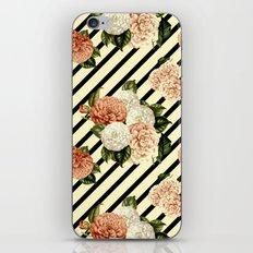 Chrysanthemum Rain iPhone & iPod Skin