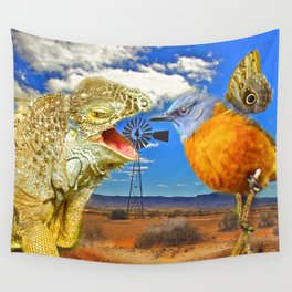 Tourists in Namaqualand Wall Tapestry