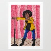 Stand Up Art Print
