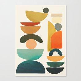 Modern Abstract Art 72 Canvas Print