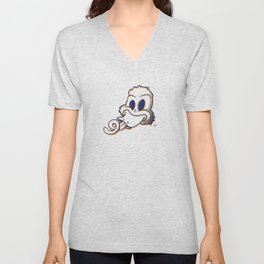 Pendemonium Duck by Madelyn DiPasquale Unisex V-Neck