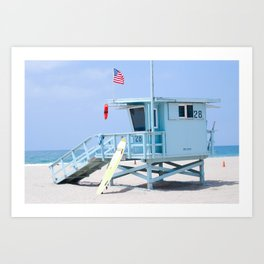 Tower 28, Santa Monica, CA Art Print
