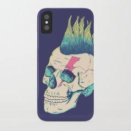Skull Punk iPhone Case