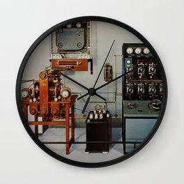 Vintage Comunication Wall Clock