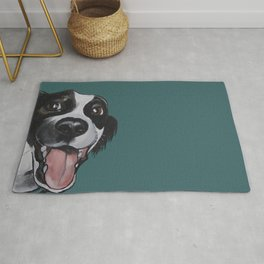 Maeby the border collie mix Rug