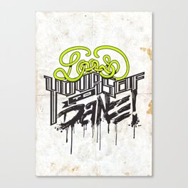 Loose Yourself Canvas Print