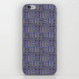 SUITE BLEUE iPhone Skin