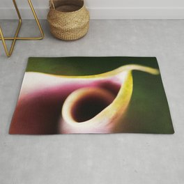 Calla Lily Abstract Rug