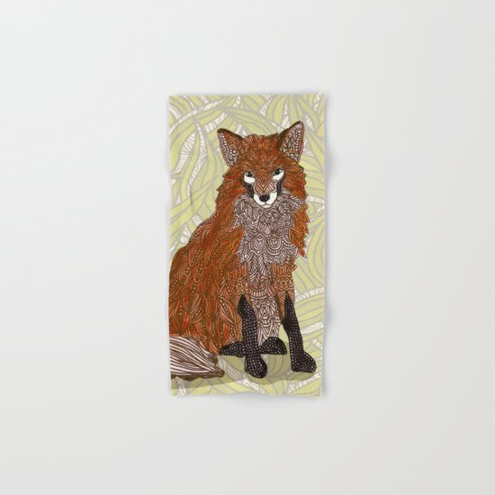 Foxy Lady Hand & Bath Towel