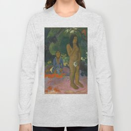 Paul Gauguin - Parau na te Varua ino (Words of the Devil) Long Sleeve T-shirt