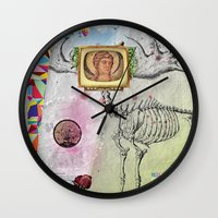 propaganda Wall Clocks featuring Propaganda by Mo.Awwad