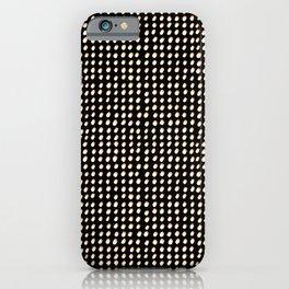 Dots (Shadowed) - White x Citrus iPhone Case