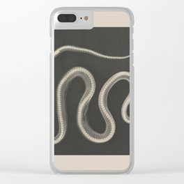 Snake RTG Clear iPhone Case