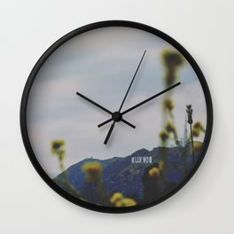 Quiet Hollywood Wall Clock