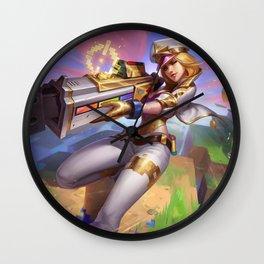 Arcade Caitlyn Prestige Edition Wall Clock