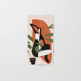 Abstract Female Figure 20 Hand & Bath Towel
