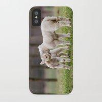lamb iPhone & iPod Cases featuring lamb by Marcel Derweduwen