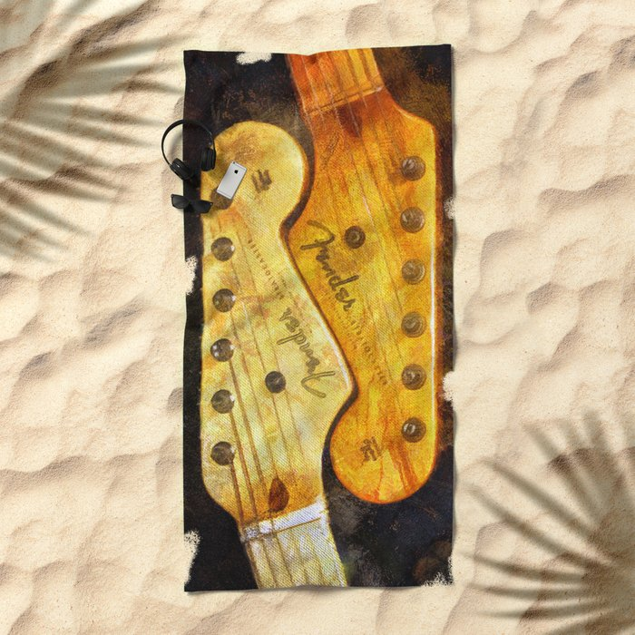 YinYang Strat Beach Towel