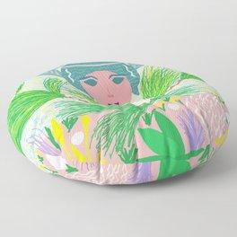 Pleasures of July Floor Pillow