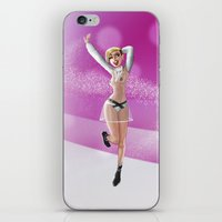 miley iPhone & iPod Skins featuring Miley by raulovsky (Raúl Ramos Melo)
