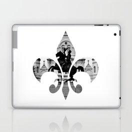 Jackson Squared - fleur de lis Laptop & iPad Skin