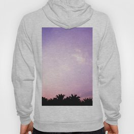 Blush pink purple sky Hoody