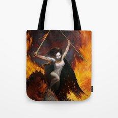 Frazetta tribute Tote Bag