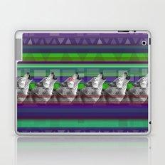 Wolves- Blue Laptop & iPad Skin