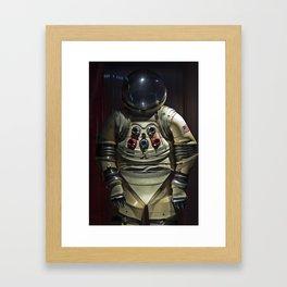 Spacesuit Framed Art Print