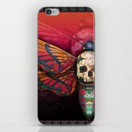 """Death colored moth"" iPhone Skin"