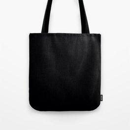 Plain Black Tote Bag
