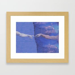 Ancient Technology Framed Art Print