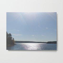Scituate Reservoir, Rhode Island Photograph #5 by Jeanpaul Ferro Metal Print