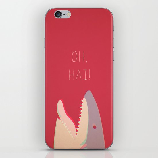 Sharky iPhone & iPod Skin