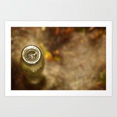 Bottled Up Wishes Art Print