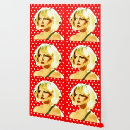 Blondie - Debbie Harry - Pop Art Wallpaper